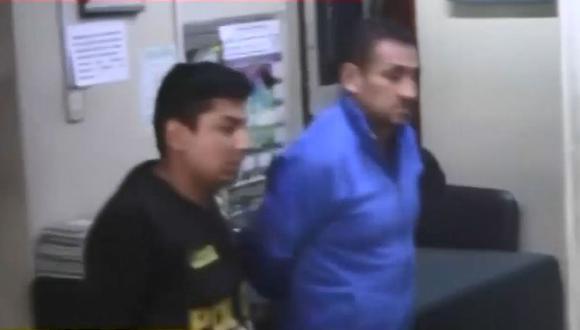 Juan Daniel Ruedas Illachura fue detenido el último martes en su vivienda. (Captura: TV Perú Noticias)