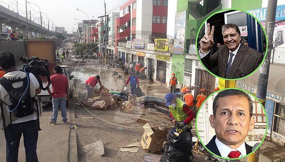 Alan García responsabiliza a Ollanta Humala y Sedapal por aniego en SJL