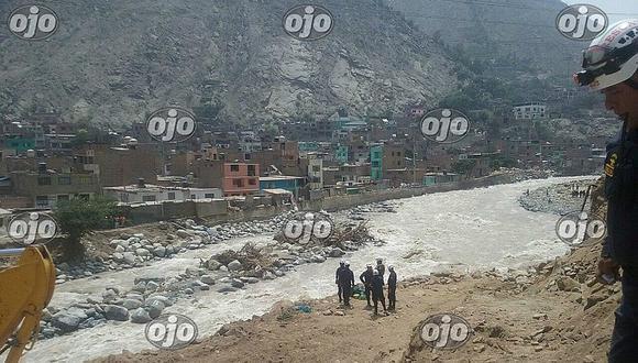 Chosica: hallan cuerpo de ingeniero que cayó al río Rímac durante obra