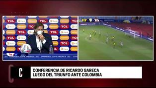 """Ricardo Gareca tras victoria ante Colombia: """"Lograron un triunfo muy importante"""""""