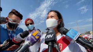 Keiko Fujimori se pronuncia sobre el pedido del fiscal Domingo Pérez de denegar su salida del país
