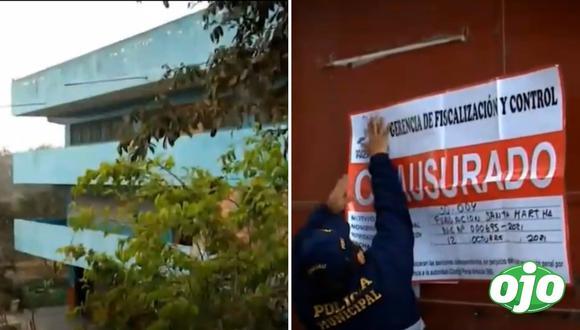 Clausuran albergue en Pachacamac. Fotos: Captura ATV