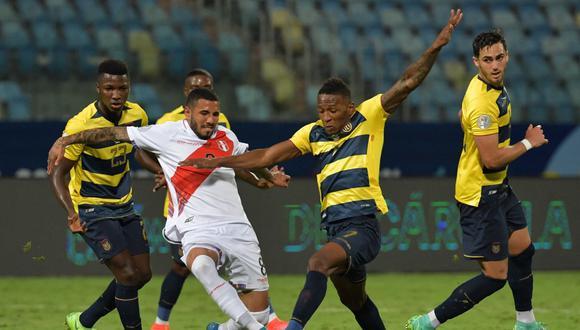 Perú empató 2-2 con Ecuador por la jornada 4 de la Copa América 2021. (Foto: Reuters)