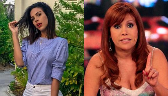 Stephanie Valenzuela amenazó a Magaly Medina por no retractarse