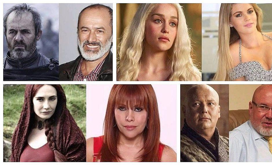 Game of Thrones: ¿cómo sería la serie con famosos peruanos?