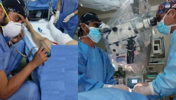 La mujer tenía un tumor maligno de cavidad oral, patología poco común en el Perú a comparación de otros países, sin embargo, esta resulta ser agresiva alcanzando tasas de mortalidad mayores del 60% (Foto: PNP)