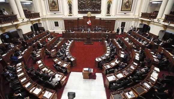 Ya son 11 las bancadas en el Congreso de la República, además de los no agrupados. (Foto: Renzo Salazar/GEC)