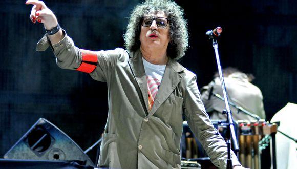 El músico argentino Charly García recibe el alta hospitalaria. (Foto: AFP)