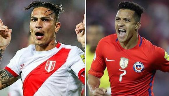 Selección peruana disputará partido amistoso contra Chile