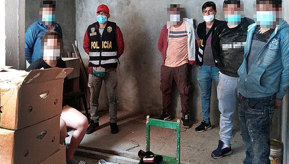Los detenidos son investigados por tráfico ilícito de drogas y tenencia ilegal de armas. (Foto: Ministerio Público)