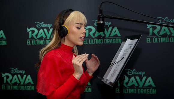 """Danna Paola pondrá la voz a la protagonista de """"Raya y el último dragón"""" en Latinoamérica. (Foto: Disney)"""
