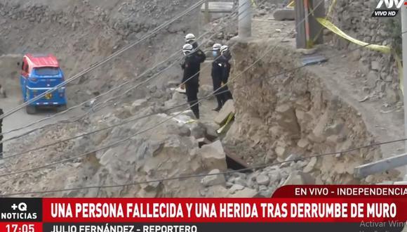 Los agentes de la Unidad de Rescate de la Policía llegaron al lugar para rescatar el cuerpo. (Foto: ATV+)