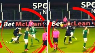 Irlanda del Norte: Arquero noqueó a su compañero de equipo tras culparlo de un gol rival