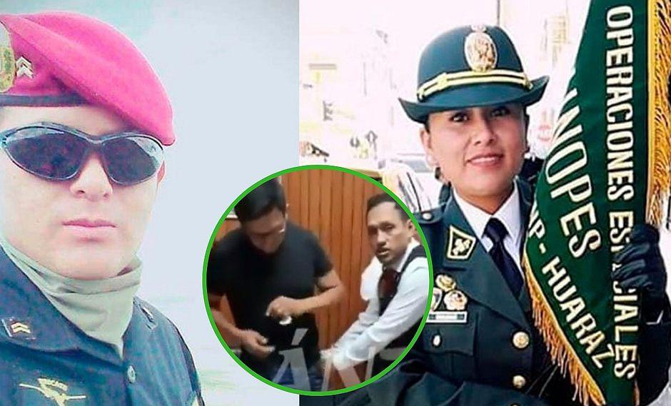 Suboficial que asesinó a su pareja se entrega a la justicia (VIDEO)