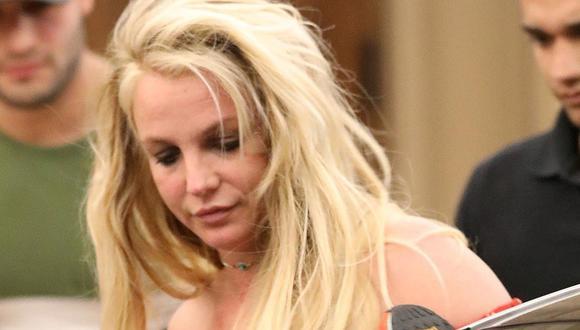 """Britney Spears jura que """"todo está bien"""" al entrar a clínica mental"""