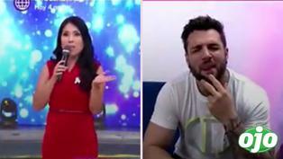 """Nicola Porcella cuadra a Tula Rodríguez por decirle """"cachetón"""""""