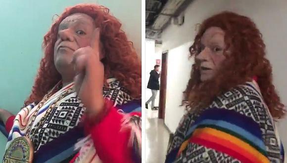"Wasap de JB imita a Eliane Karp y su ""I don't speak spanish"" │VIDEO"
