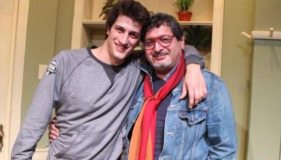 Stefano Tosso recuerda a su padre con emotiva fotografía en Instagram