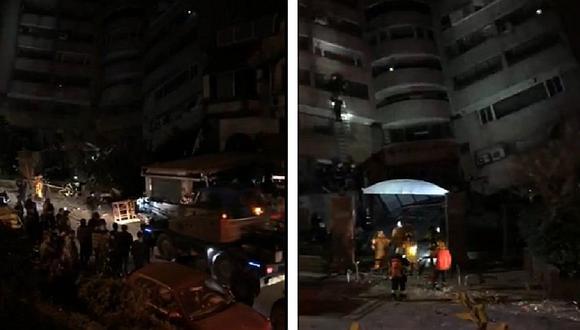 Impactante video tras terremoto de 6.4 grados en Taiwán