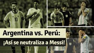 Qatar 2022: así fue marcado Messi cuando jugó contra la 'Blanquirroja' en Argentina