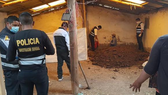 Cusco: Mujer desaparecida es hallada muerta y enterrada dentro de un galpón (Foto: Juan Sequeiros)