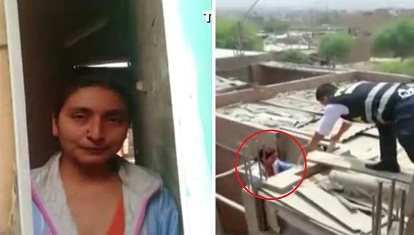 Puente Piedra: Hombre encierra a su esposa en su propia casa, pero es rescatada (VIDEO)
