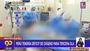 Perú tendría déficit de oxígeno para enfrentar tercera ola de coronavirus