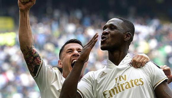 Milan empata 2-2 ante Inter con golazo de Zapata en último segundo