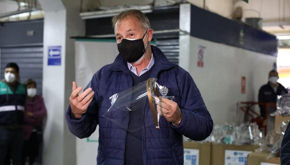 Jorge Muñoz se pronunció luego que el Colegio Médico del Perúindicó que se encuentra analizando la posibilidad de plantear que se aplique una cuarentena generalizada, esta vez por 15 días.(Foto: Britanie Arroyo/GEC)