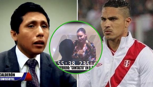 """Mozo del Swissotel asegura que esposa del abogado de Paolo Guerrero le pidió que se """"autoinculpe"""""""