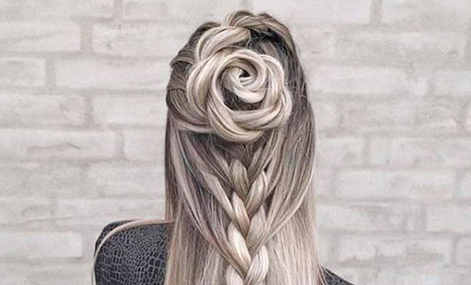 Instagram: paso a paso de peinado floral de moda