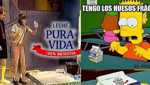Pura Vida no es 100% leche y cibernautas se burlan con divertidos memes (FOTOS)