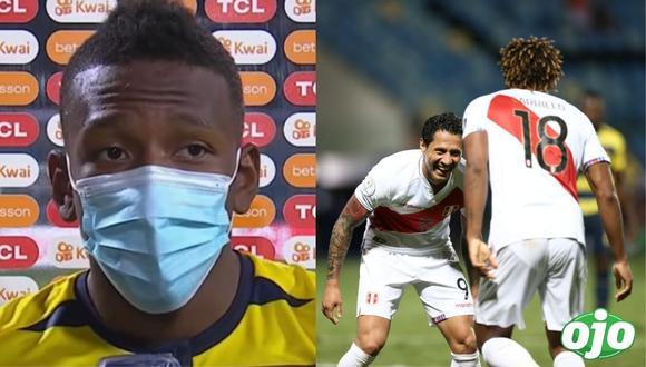 Ecuatoriano Estupiñán menosprecia a Perú tras empate