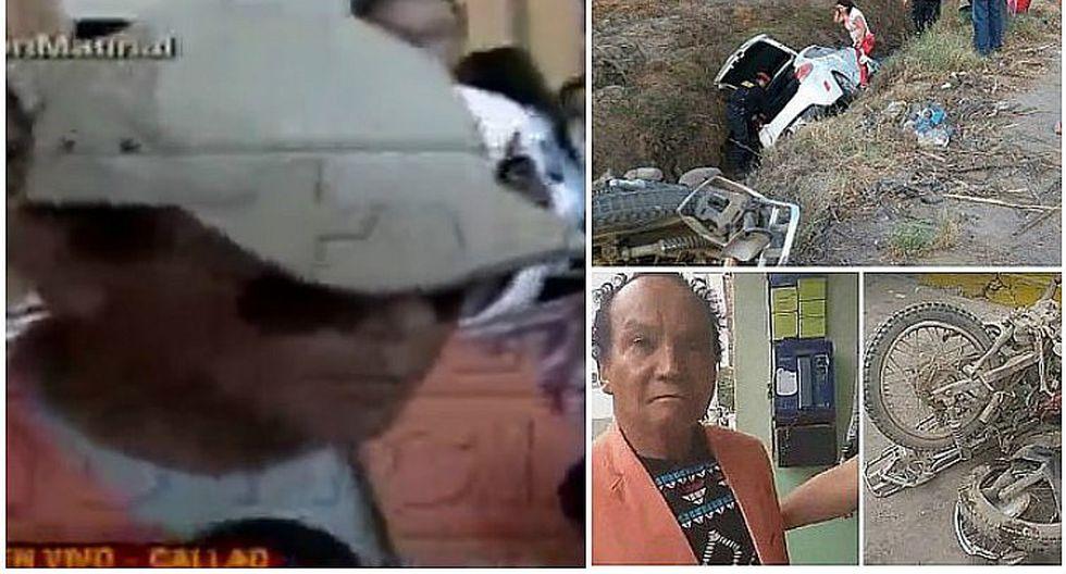 Melcochita llega a Lima tras accidente: Estoy destrozado por dentro (VIDEO)