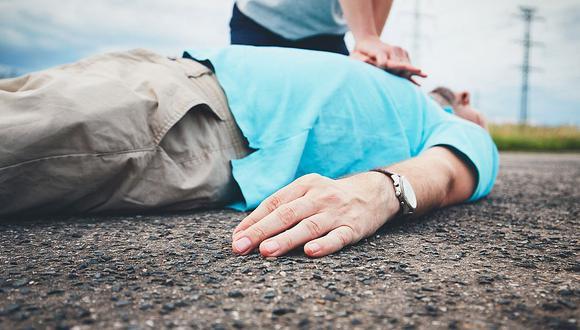 Abuelito queda grave luego de sufrir un infarto al salir de un burdel