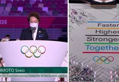 """Conductores de ATV al no saber qué dice la presidenta del Comité organizador de """"Tokio 2020″: """"Debe ser algo bonito"""""""