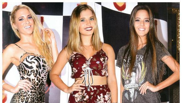 ¡Rock Stars! El estilo de Macarena Gastaldo, Flavia Laos & Luciana Fuster [FOTOS]
