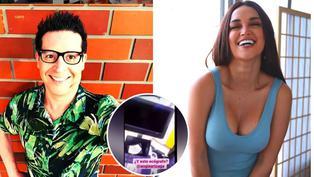 """Carloncho"" deja en evidencia a Angie Arizaga ante rumores de posible embarazo"