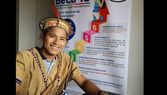 Joven de Pichanaki se hace acreedor de beca y desea erradicar desnutrición en su comunidad