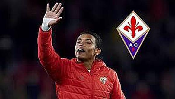 Fiorentina ficha prestado al delantero colombiano Luis Muriel