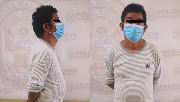 Cusco: la denuncia fue presentada por Aidé H.M. (42), quien acusó el agravio contra su menor hija por parte su papá. (Foto: PNP)