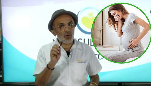 4 consejos del Dr. Pérez Albela para evitar los vómitos en el embarazo