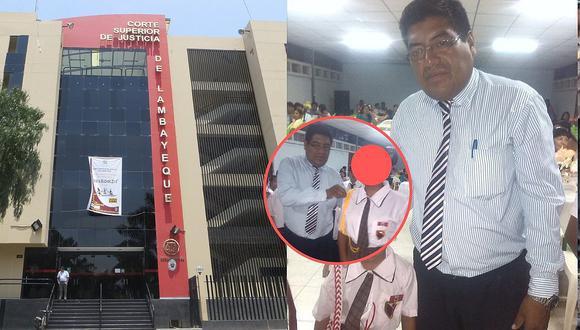 Este es el profesor Pedro Roque, quien fue capturado en el Callao. (Foto GEC)