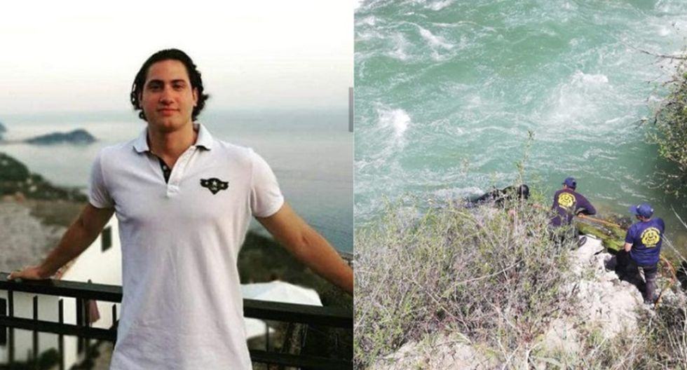 Giacomo Boccoleri había desaparecido tras caer al río Cañete.