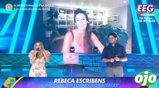 """""""Soy la reina de la escoba"""": Rebeca Escribens responde así cuando Johana San Miguel le echa flores   VIDEO"""
