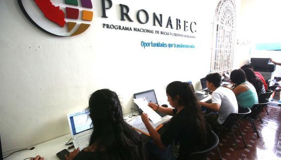 El 4 de agosto se publicará la relación de los 400 postulantes que obtendrá la Beca Hijos de Docentes. (Foto: Andina)