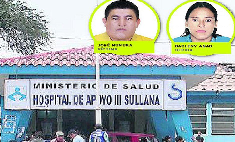 Sullana: un comerciante muerto y una mujer herida deja lluvia de balas en mercadillo