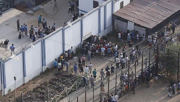 Penal de Lurigancho: imagen captada durante motín deja en shock (FOTOS)