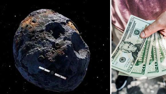 El asteroide Psyche 16 que podría volver multimillonario a cada habitante de la Tierra