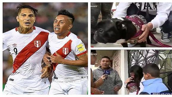 Perú vs. Colombia: familia devuelve a perrito y se llevan seis entradas en palco (VIDEOS)